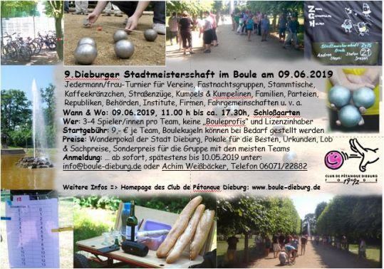 9. Dieburger Stadtmeisterschaft Fb